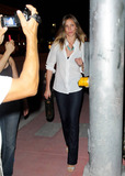 Alex Rodriguez Photo - Cameron Diaz leaves Casa Tua restaurant after having diner with Alex Rodriguez who is currently recovering from surgery Miami Beach FL 07232011