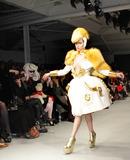 Alice Dellal Photo - Model Alice Dellal walks the runway at the Pam Hogg fashion show during London Fashion Week London UK 022011