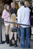 Andrea Schroder Photo - Actor Rick Schroder smiles and laughs with his wife Andrea Schroder and their two daughters Cambrie (pink hoodie) and Faith Anne (brown boots)  The family stood in line at the Malibu Cinema waiting to see a movie Los Angeles CA 071710