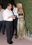 Alexia Echevarria Photo - Real Housewives of Miami star Alexia Echevarria out to dinner with her husband Herman Echevarria Miami FL 051411