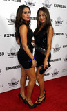 The Bella Twins Photo - The Bella Twins from the WWE arriving at The Express Matt Leinart Foundation Celebrity Bowl at Lucky Strike in Hollywood CA 71510