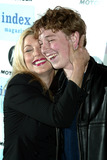 JT LeRoy Photo - Tatum Oneal with Her Son Kevin Mcenroe at Jt Leroy and Friends at the Public Theater in New York City on April 17 2003 Photo Henry McgeeGlobe Photos Inc 2003 K30133hmc Motorola Present an Evening with Index Magazine