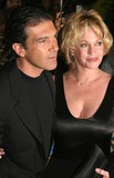 Melanie Griffith Photo - Antonio Banderas and Melanie Griffith Arriving at a Special Screening of Shrek 2 at the Beekman Theatre in New York City on May 17 2004 Photo by Henry McgeeGlobe Photos Inc 2004