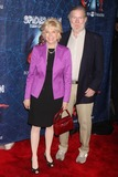Aaron Latham Photo - Lesley Stahl and Husband Writer Aaron Latham Arriving at the Opening Night of spider-man Turn Off the Dark at the Foxwoods Theatre in New York City on 06-14-2011  Photo by Henry Mcgee-Globe Photos Inc 2011