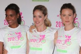 Arlenis Sosa Photo - Victorias Secret Angels Arlenis Sosa Doutzen Kroes and Behati Prinsloo at the Second Annual Supermodel Cycle to Benefit Pelotonia at Soulcycle Upper East Side in New York City on 07-11-2012 Photo by Henry Mcgee-Globe Photos Inc 2012