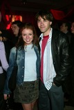 AUBREY DOLLAR Photo - Aubrey Dollar (Guiding Light) with Date at Party For Yms 4th Annual Mtv Issue at Splashlight Studios in New York City on March 4 2003 Photo by Henry McgeeGlobe Photos Inc2003 K29441hmc