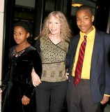 Mia Farrow Photo - Mia Farrow and Her Children Arriving at the Premiere of Samantha an American Girl Holiday at American Girl Place in New York City on November 14 2004 Photo by Henry McgeeGlobe Photos Inc 2004