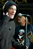 R E M Photo - Michael Stipe of Rem Performing on Nbcs Today Show Concert Series in Rockefeller Plaza at the NBC Studios New York City on October 3 2003 Photo Henry McgeeGlobe Photos Inc 2003