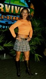 Alicia Calaway Photo - Survivor Allstars Castaways Madison Square Garden New York City 05092004 Photo Henry Mcgee  Globe Photos Inc 2004 Alicia Calaway