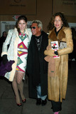 Jacqueline Schnabel Photo - Stella Schnabel with Mother Jacqueline Schnabel and Friend at Anna Sui Showing of Fall Collection in the Tent at Bryant Park in New York City on February 12 2003 Photo by Henry McgeeGlobe Photos Inc2003