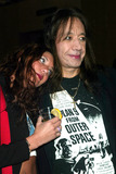 Ace Frehley Photo - Ace Frehley (Kiss) with His Daughter Monique at Anna Sui Showing of Fall Collection in the Tent at Bryant Park in New York City on February 12 2003 Photo by Henry McgeeGlobe Photos Inc2003