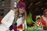 Kermit the Frog Photo - NYC  112609Tiffany Thornton and Kermit the Frog at the 83rd annual Macys Thanksgiving Day Parade on the Upper West SideDigital Photo by Adam Nemser-PHOTOlinknet