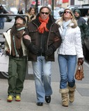 Ally Hilfiger Photo - NYC  011505Tommy Hilfiger (who has a new reality tv show airing in March) with his girlfriend and daughter Ally Hilfiger shopping in SOHODigital Photo by Adam Nemser-PHOTOlinkorg