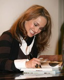 Giada De Laurentiis Photo - NYC  040407Giada De Laurentiis signing copies of her new cookbook EVERYDAY PASTA at Barnes  Noble She reluctantly agreed to let photographers photograph her signing books for 5 minutes but would not pose holding the book like most authors do Photographers were told that she thought it was too pretentious and was just there for the fans Yet arrived almost 20 minutes late to signDigital Photo by Adam Nemser-PHOTOlinknet