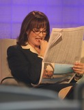 Nancy Snyderman Photo - NYC  013107Dr Nancy Snyderman reading a newspaper on the couch on the set of THE TODAY SHOW while waiting for her live segmentDigital Photo by Adam Nemser-PHOTOlinknet