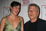 ASHLEY BROWN Photo - NYC  072907Ashley Brown (former Belle) and Alan Menken at the party celebrating the final performance of Disneys Beauty and the Beast after 13 years on Broadway at Cipriani 42nd StreetDigital Photo by Adam Nemser-PHOTOlinknet