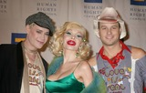 Amanda Lepore Photo - NYC  021007Heatherette designers (recipients of the Human Rights Campaigns 2007 Visibilty Award) Richie Rich (l) and Traver Rains (r) and Amanda Lepore at the HUMAN RIGHTS CAMPAIGN annual greater New York City Gala Dinner at the Waldorf Astoria HotelDigital Photo by Adam Nemser-PHOTOlinknet
