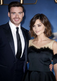 Cinderella Photo - LONDON ENGLAND UK Jun 05 2015 - Jenna Coleman who today has been linked with Prince Harry She is pictured here with Richard Madden at Cinderella UK Premiere Odeon Leicester Square on Mar 19 2015  in London England