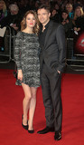 Ashley Hinshaw Photo - October 17 2015 - Ashley Hinshaw and Topher Grace  attending Truth screening at BFI London Film Festival at Odeon Leicester Square in London UK
