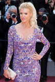Victoria Silvstedt Photo - CANNES FRANCE - MAY 11 Victoria Silvstedt attends the screening of Ash Is The Purest White (Jiang Hu Er Nv) during the 71st annual Cannes Film Festival at Palais des Festivals on May 11 2018 in Cannes France(Photo by Laurent KoffelImageCollectcom)