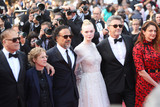Alejandro Gonzalez Inarritu Photo - CANNES FRANCE - MAY 25 (L-R) Jury Members Alice Rohrwacher Pawel Pawlikowski Elle Fanning Alejandro Gonzalez Inarritu Kelly Reichardt and Enki Bilal attend the closing ceremony screening of The Specials during the 72nd annual Cannes Film Festival on May 25 2019 in Cannes France (Photo by Laurent KoffelImageCollectcom)