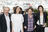 Marion Cotillard Photo - CANNES FRANCE - MAY 17 Director Arnaud Desplechin actress Marion Cotillard actor Mathieu Amalric and Charlotte Gainsbourg attends the Ismaels Ghosts (Les Fantomes dIsmael) photocall during the 70th annual Cannes Film Festival at Palais des Festivals on May 17 2017 in Cannes France(Photo by Laurent KoffelImageCollectcom)