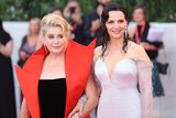 Catherine Deneuve Photo - VENICE ITALY - AUGUST 28 Catherine Deneuve and Juliette Binoche walk the red carpet ahead of the Opening Ceremony and the La Vrit (The Truth) screening during the 76th Venice Film Festival at Sala Grande on August 28 2019 in Venice Italy (Photo by Laurent KoffelImageCollectcom)