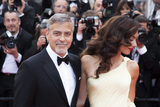 Amal Clooney Photo - CANNES FRANCE - MAY 12  George Clooney and his wife Amal Clooney attend the Money Monster premiere during the 69th annual Cannes Film Festival at the Palais des Festivals on May 12 2016 in Cannes France(Photo by Laurent KoffelImageCollectcom)