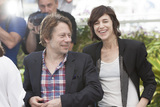 Charlotte Gainsbourg Photo - CANNES FRANCE - MAY 17 Actor Mathieu Amalric and actress Charlotte Gainsbourg attends the Ismaels Ghosts (Les Fantomes dIsmael) photocall during the 70th annual Cannes Film Festival at Palais des Festivals on May 17 2017 in Cannes France(Photo by Laurent KoffelImageCollectcom)