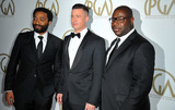 Steve Mc Queen Photo - January 19 2014 LAChiwetel Ejiofor Brad Pitt and Steve McQueen arriving at the 25th annual Producers Guild of America Awards at The Beverly Hilton Hotel on January 19 2014 in Beverly Hills California