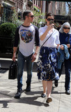 Adam Shulman Photo - April 15 2015 New York CityAnne Hathaway and Adam Shulman enjoy the warm Spring weather as they walk in the East Village on April 15 2015 in New York CityBy Line Philip VaughanACE PicturesACE Pictures Inctel 646 769 0430