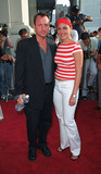 Eric Schaeffer Photo - Director Eric Schaeffer and Jamie Lynn-Sigler attending a screening of Never Again in New York July 8 2002