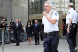 Anne Sinclair Photo - Former head of the IMF Dominique Strauss-Kahn and his wife Anne Sinclair leaving the Manhattan Criminal court follwing his Not Guilty plea to sex-related charges on June 6 2011 in New York City