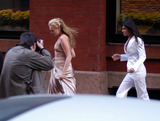 Alexandra Shiva Photo - Celebrities in town for the wedding of Alexandra Shiva and Jonathan Sherman Pictured Portia De Rossi New York May 17 2003