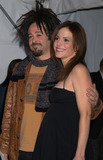 Adam Duritz Photo - Adam Duritz of Counting Crowes and Mary-Louise Parker arriving at the premiere of HBOs series Angels in America New York Nowember 4 2003