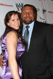 Stephanie McMahon Photo - Stephanie McMahon and Paul Triple H Levesque arriving at the  WrestleMania Premiere party on March 29 2012 in Miami Beach Florida