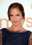 Minka Photo - Minka Kelly arriving at the 63rd Annual Primetime Emmy Awards held at Nokia Theatre LA LIVE on September 18 2011 in Los Angeles California