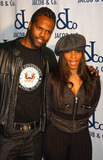 AJ FREE Photo - NEW YORK DECEMBER 13 2004    AJ and Free at Jacob the Jewelers grand opening party for the new Jacob  Co flagship store