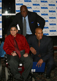 Cal Ramsey Photo - NY Knick CAL RAMSEY and NY Net RICHARD JEFFERSON attending Muscular Dystrophy Associations Muscle Team Gala  Benefit at Pier Sixty in New York January 2003