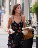 Alexa Chung Photo - August 31 2015 New York CityTV personality Alexa Chung carries some lunch and a cup of coffee as she walks in Soho on August 31 2015 in New York CityBy Line Zelig ShaulACE PicturesACE Pictures Inctel 646 769 0430