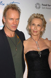 Sting Photo - Sting and Trudie Styler at La Dolce Vita New York Fundraiser at the Metropolitain Pavilion which they hosted