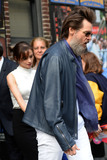 David Letterman Photo - September 28 2015 LAFile pictures of Jim Carrey and Cathriona White leaving a taping on the last Late Show with David Letterman on May 20 2015 in New York City White committed Suicide on September 28 2015 at her home in Los Angeles following a break-up from CarreyBy Line Kristin CallahanACE PicturesACE Pictures Inctel 646 769 0430