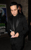 Ashlee Simpson-Wentz Photo - Musician Pete Wentz arriving at his wife Ashlee Simpson-Wentzs Broadway debut in Chicago at the Ambassador Theatre on November 30 2009 in New York City