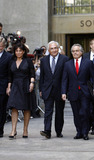 Anne Sinclair Photo - Former IMF director Dominique Strauss-Kahn leaving the Manhattan State Supreme Court with his wife Anne Sinclair and attorney Benjamin Brafman on August 23 2011 in New York City The criminal sexual assault charges against Strauss-Kahn were dropped