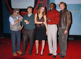 Nick Hayek Jr Photo - NEW YORK OCTOBER 20 2004 (L to R) Nick hayek Jr Bill Gates Mischa Barton Carl Lewis Denis Leary at the Swatch and Microsoft launch of wach Paparazzi