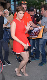 Kate Mara Photo - August 3 2015 New York CityActress Kate Mara leaves a downtown hotel on August 3 2015 in New York CityBy Line Curtis MeansACE PicturesACE Pictures Inctel 646 769 0430