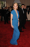 AMBER VALETTA Photo - Amber Valetta arriving at the Costume Institute Gala Benefit to celebrate the opening of the American Woman Fashioning a National Identity exhibition at The Metropolitan Museum of Art on May 3 2010 in New York City