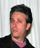 Jon Stewart Photo - Comedian JON STEWART at the Volvos 75th Anniversary celebration at the Times Square Studios in New York March 27 2002  2002 by Alecsey BoldeskulNY Photo Press     PAY-PER-USE          NY Photo Press    phone (646) 267-6913     e-mail infocopyrightnyphotopresscom