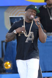 Curtis Jackson Photo - May 30 2014 New York City50 Cent performing on GMA at Rumsey Playfield in Central Park on May 30 2014 in New York City