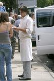 Jared Leto Photo - Actor Jared Leto returns to Coney Island     Four years ago Leto starred in Requiem For a Dream a drama about a drug addict which unfolded on Coney Island     Today Jared Leto returns to film his latest thriller Lord of War     Gentleman Leto did a heroic thing while on the movie set Leto rescued a Russian girl from a stalker who followed her from home to the ocean front Later Leto approached the girl to find out if she was OK Russian girl was a bit shaken but grateful to her rescuer    Brooklyn New York August 7 2004